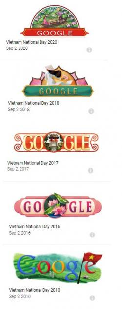 Mẩu Thiết Kế Trang GG DD Cho Ngày Quốc Khánh Việt Nam